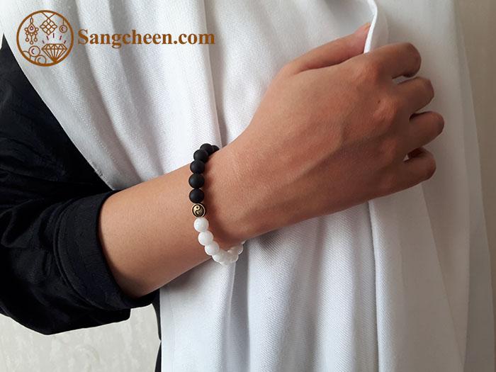 دستبند یین و یانگ زنانه