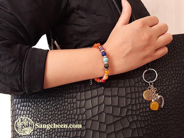 دستبند چاکراها زنانه