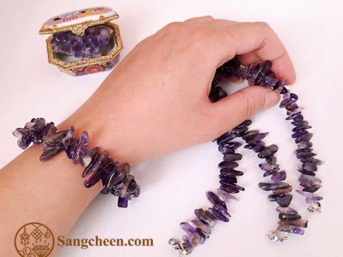 دستبند زنانه آمیتیست